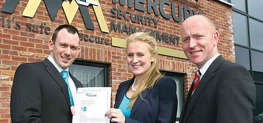 Mercury Security Management obtain ISO 27001 assisted once again by the trusted and reliable Global QA Consultants